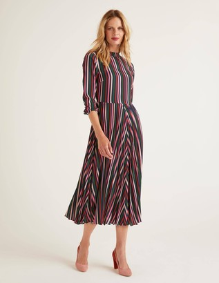 Camille Pleated Dress