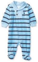 Ralph Lauren Baby Boys Cotton-Blend Footie