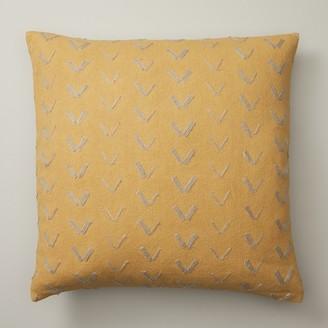 "Indigo Spur Pattern Sunshine Pillow Cover 18"" X 18"""