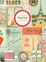 Cavallini & Co. Papers 4-Sheet Wrap Pack, Vintage Paris