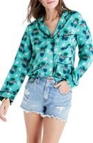 Madewell Women's Silk Pajama Shirt