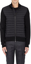 Moncler Men's Down-Quilted Tech-Fabric & Cotton-Blend Jacket