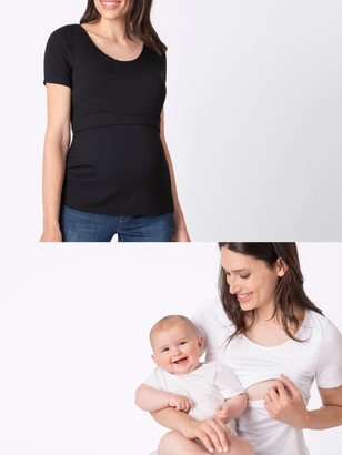 Séraphine Seraphine Laina Short Sleeve Maternity and Nursing Top, Pack of 2