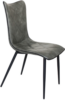 Moe's Home Collection Set Of 2 Josie Dining Chair Grey