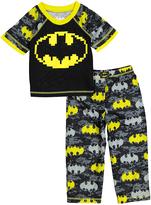 Komar Kids Batman Black & Yellow Pajama Set - Toddler
