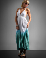 Diabless Ombre Print Sequin Strappy Maxi Dress