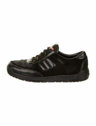 Louis Vuitton Suede Sneakers Black
