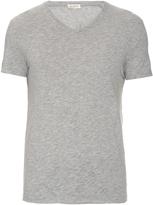 American Vintage V-neck cotton-blend T-shirt