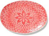 Vietri Viva Red Lace Large Oval Platter