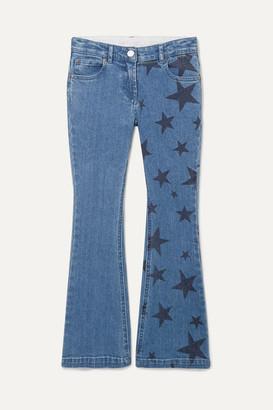 Stella McCartney Printed Flared Jeans - Blue