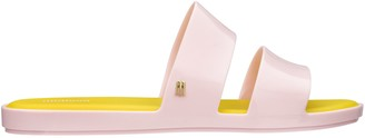 Melissa Double Strap Slides - Color Pop