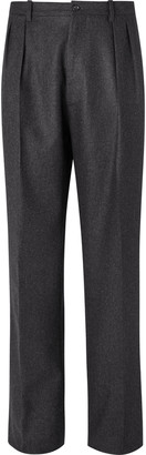 De Petrillo Virgin Wool-Flannel Trousers
