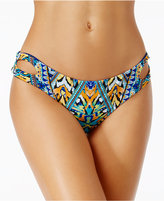 Bar III Monarchy Tribal-Print Cheeky Bikini Bottoms, Only at Macy's