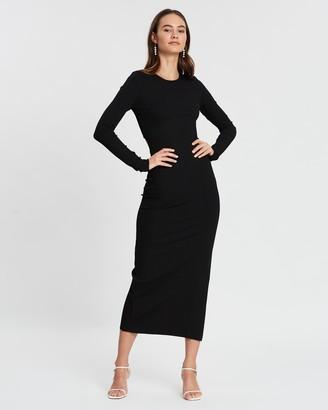 Bec & Bridge Noir Et Blanc LS Dress