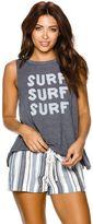 Roxy Muscle Aztec Surf Surf Tank