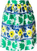 P.A.R.O.S.H. 'Penelope' skirt - women - Polyester/Silk/Polyamide/Cotton - M