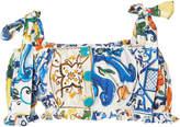 Dolce & Gabbana Maiolica-Print Cropped Top
