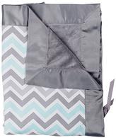 30'' x 34'' Peek-A-Blue Stroller Blanket
