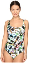 Moschino Sunglass Maillot Women's Swimsuits One Piece