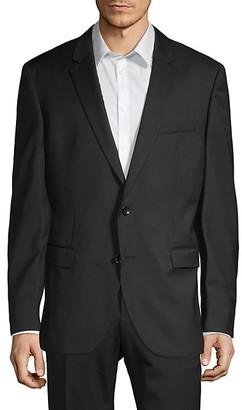 HUGO BOSS Tailored-Fit Virgin Wool Sport Jacket