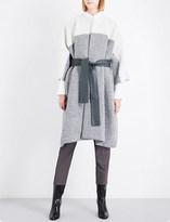 Jil Sander Delhi batwing-sleeve wool and alpaca-blend coat