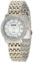 August Steiner Women's Dazzling Diamond Bracelet Watch