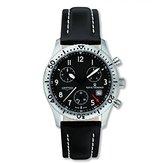 Revue Thommen Men's 16001-9597 Airspeed Classic Analog Display Swiss Quartz Brown Watch