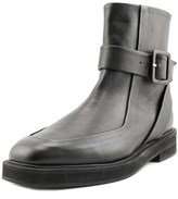 Carven Officer Square Toe Leather Ankle Boot.