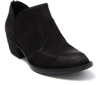 Børn Ven Perforated Suede Bootie