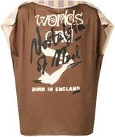 Vivienne Westwood Worlds End T-shirt - unisex - Cotton - One Size