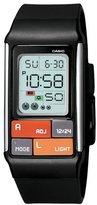 Casio Women's LDF50-1CF Pop Tone Black Digital Watch