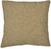 DKNY Loft Stripe Beaded Square Throw Pillow in Taupe