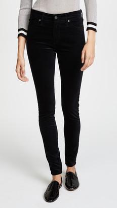 AG Jeans Farrah Skinny Velveteen Pants
