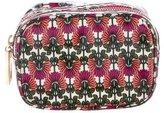 Tory Burch Floral Print Zip Cosmetic Bag