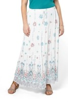 Evans Plus Size Women's Tiered Maxi Skirt