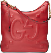 Gucci Embossed GG leather hobo