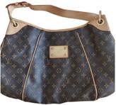 Louis Vuitton Galliera Brown Cloth Handbags