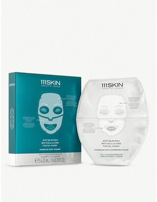 111SKIN Anti Blemish Bio Cellulose Facial Mask 5 x 23ml