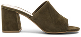 Seychelles Commute Heel in Olive Suede in Olive. - size 9.5 (also in )