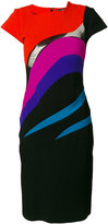 Capucci fitted midi dress