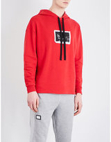 Blood Brother Postcard-print Cotton-jersey Hoody