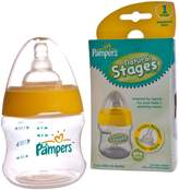 Pampers Natural Stages Bottle,5 Oz,Stage 1 Newborn 0m+