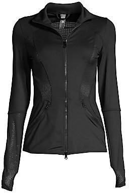 adidas by Stella McCartney Women's Esssential Mesh Workout Jacket