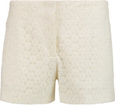 Joseph Wren embroidered tulle shorts