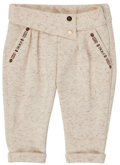 Ikks XR23010 girls's Trousers in Beige