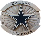 LFA Dallas Cowboys Large Size Novelty Belt Buckle