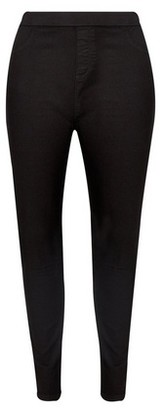 Dorothy Perkins Womens Dp Curve Black 'Eden' High Waisted Jeggings, Black