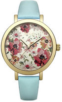 "Oasis Floral Dial Watch [span class=""variation_color_heading""]- Green[/span]"
