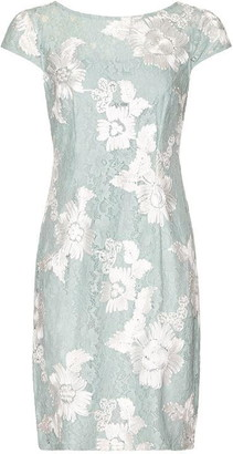 Adrianna Papell Soutache Lace Sheath Dress