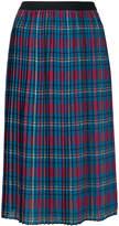 I'M Isola Marras plaid pleated skirt